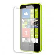 Kit com 2 Películas transparente lisa protetor de tela para Nokia Lumia 620