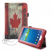 Capa para Tablet Bandeira do Canadá para Samsung Galaxy Tab 3 7.0 T2100 /T2110