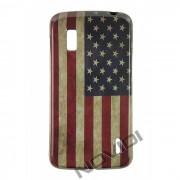 Capa Personalizada Bandeira Envelhecida USA para LG Nexus 4 E960