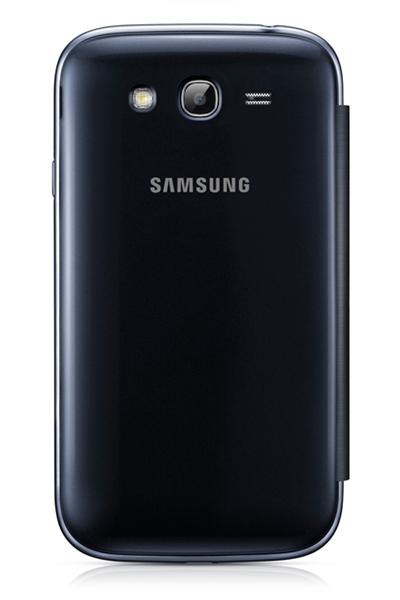Capa em couro flip para Samsung  Galaxy Gran Duos I9082 - Original  Samsung - Cor Azul Marinho