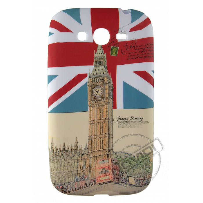 Capa Personalizada UK e Big Ben para Samsung Galaxy Grand Duos I9082