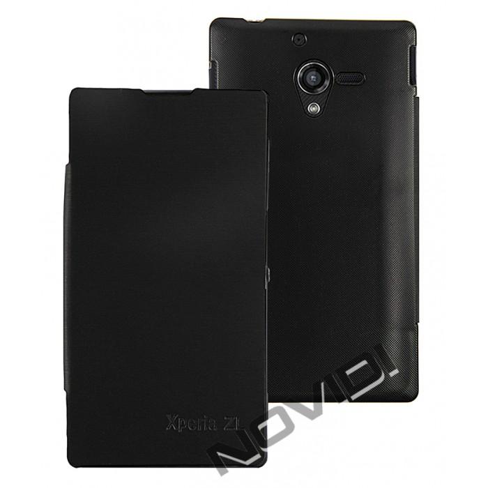 Capa Flip Cover para Sony Xperia ZQ � Cor Preta