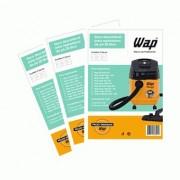Wap Silent Power /  A10 - Kit 3/3 Filtros De Papel Descartável 10 litros Aspirador