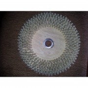ESCOVA NYLON CLEANNER - ALL CLEAN - BANDEIRANTE - 350mm C/ FLANGE