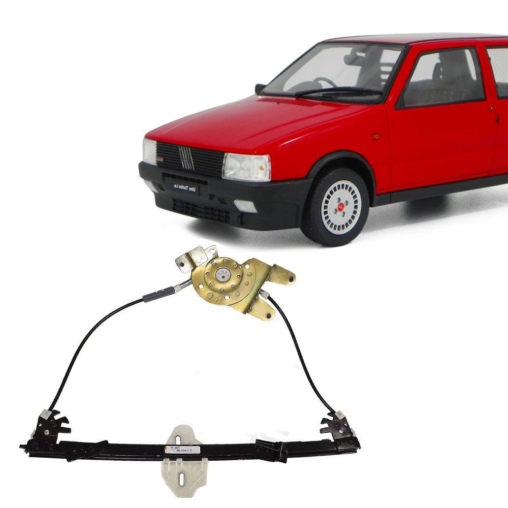 Máquina de Vidro Elétrico Fiat Uno G1 1985 em Diante Elba 1986 a 1996 Prêmio 1985 a 1995 2 Portas Lado Direito sem Motor - AutoParts Online