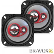 Alto Falante 4� Bravox Triaxial B3X40 30w RMS 4ohms - PAR - AutoParts Online