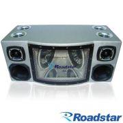 Caixa de Som Amplificada Roadstar RS-1053AMP 4000w � Espelhos e Ilumina��o Neon Azul - AutoParts Online