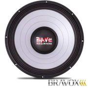 Woofer 18� Bravox RAVE RV18-S4 5.1kw 2500w RMS 4ohms