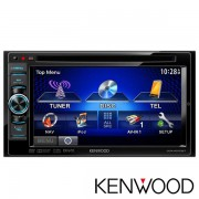 R�dio Automotivo JVC Kenwood DVD 2 Din DDX4070BT Multim�dia com tela de 6,1� wide de alta resolu��o,