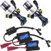 Kit Xenon H27 10000K 12V � Reator Slim