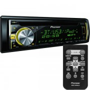 Radio CD/USB Automotivo Pioneer DEH-X6680BT Mixtrax EZ Bluetooth
