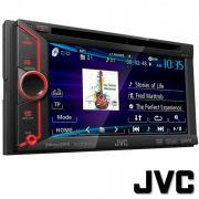 DVD Automotivo 6.1� Touch JVC KENWOOD KW-V10 USB e Auxiliar com controle remoto 4x50w