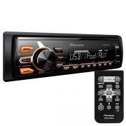 Radio USB Automotivo Pioneer MVHX178UI Mixtrax