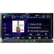DVD Player Multim�dia JVC KW-V40BT 7 Touchscreen CD DVD USB BLUETOOTH
