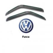 Calha de Chuva Acrilica Adesiva VW Fusca  � 2 Portas