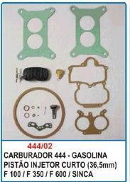 Kit de reparo do carburador DFV Weber 444 para F100 F350 F600 Simca  - Bunnitu Peças e Acessórios