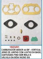 Kit de reparo do carburador para Weber 44 IDF - Vertical  - Bunnitu Peças e Acessórios