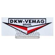 Adesivo modelo DKW - VEMAG Brasil