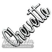 Emblema da tampa traseira para GM Chevrolet Chevette