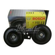 Buzina Bosch modelo paquerinha Bi-Bi 12V Universal preta