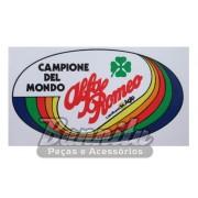 Adesivo modelo - Campione del Mondo - Alfa Romeo