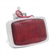 Lanterna de freio aplicação universal com lente vermelha