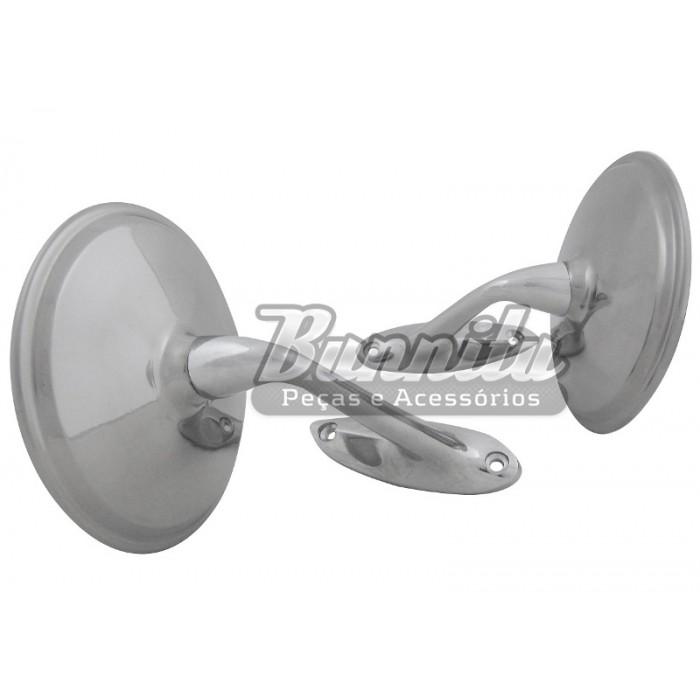 Espelho retrovisor para GM Opala ou Caravan  - Bunnitu Peças e Acessórios