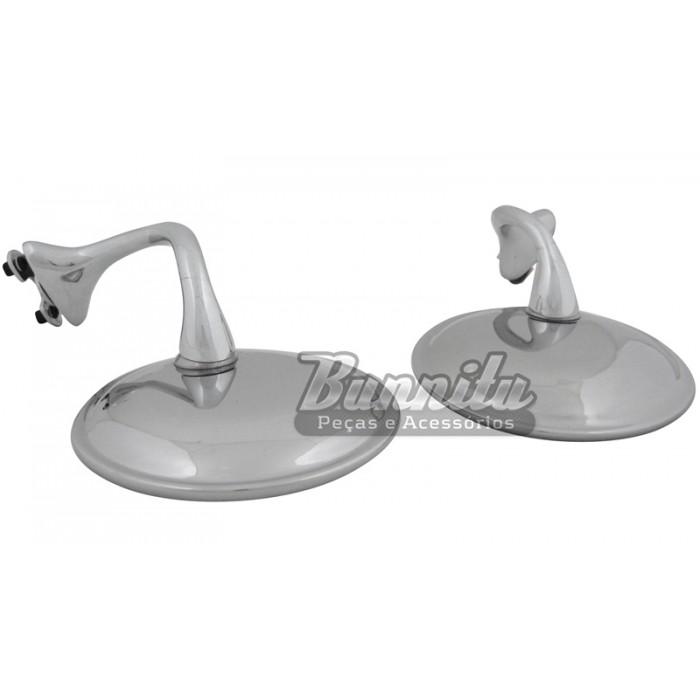 Espelho retrovisor Hot Rod pequeno  - Bunnitu Peças e Acessórios