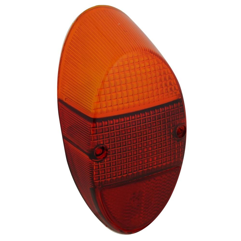 Lente da lanterna traseira para VW Fusca 1200 1300  - Bunnitu Peças e Acessórios