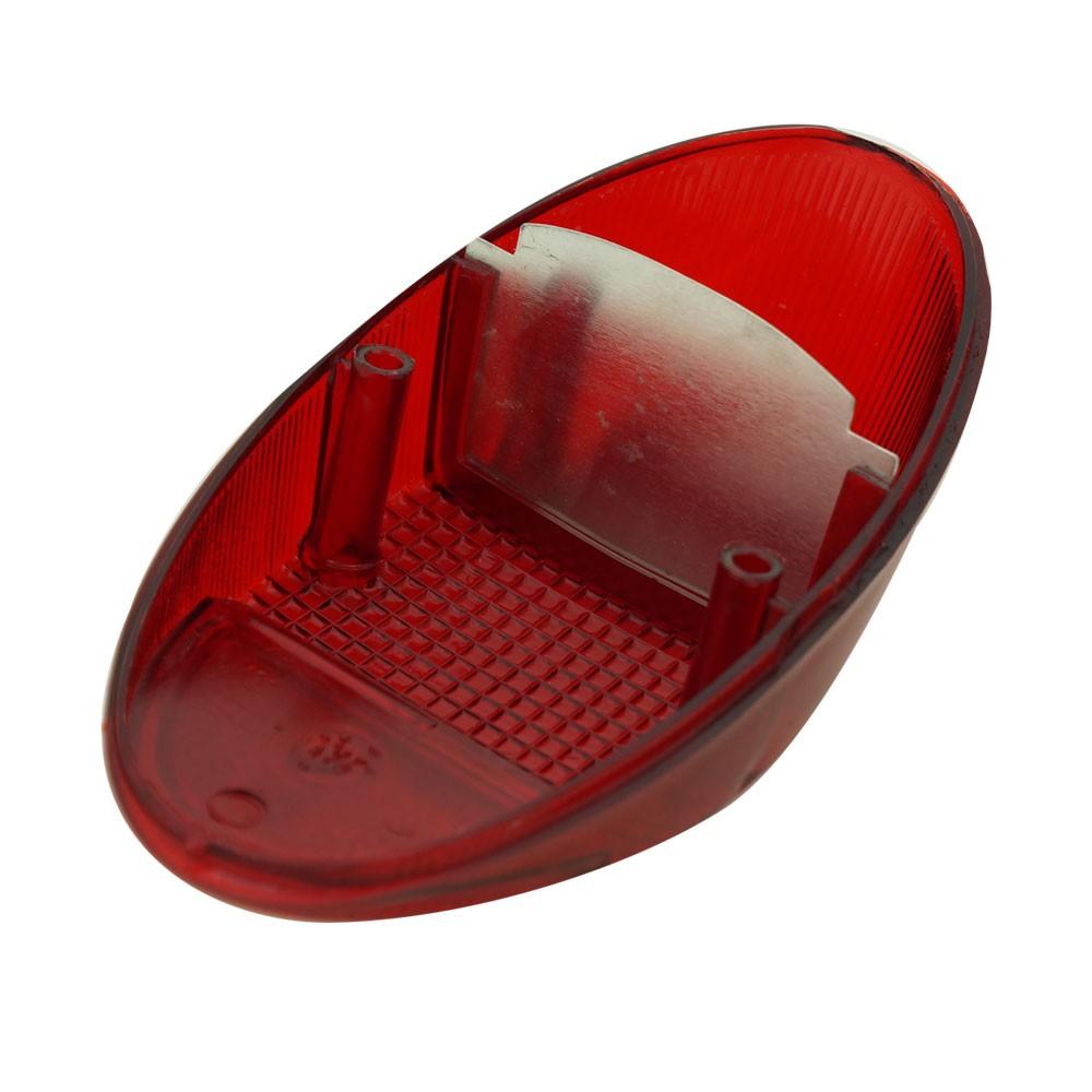 Lanterna traseira toda vermelha para VW Fusca 1200 1300  - Bunnitu Peças e Acessórios