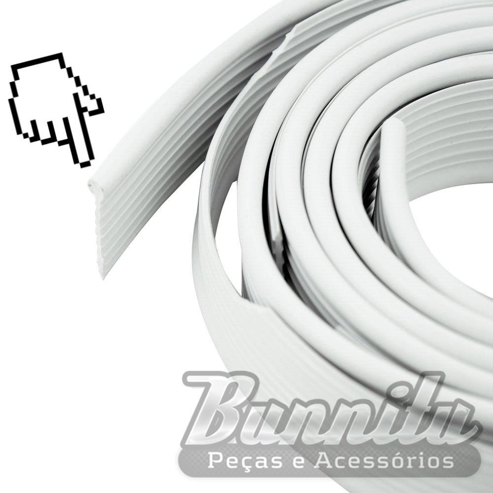 Deblun galão do paralama na cor branca para VW Fusca  - Bunnitu Peças e Acessórios