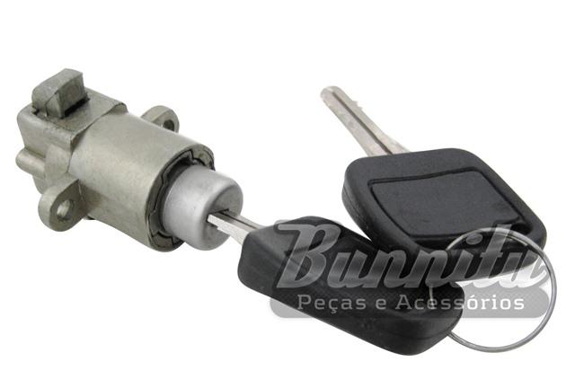Botão com chave do porta luvas para Ford Corcel e Belina até 1977  - Bunnitu Peças e Acessórios