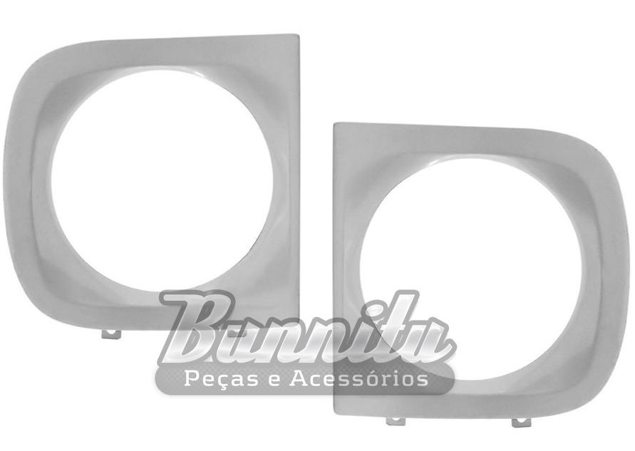 Aro do farol em metal para GM D10  - Bunnitu Peças e Acessórios
