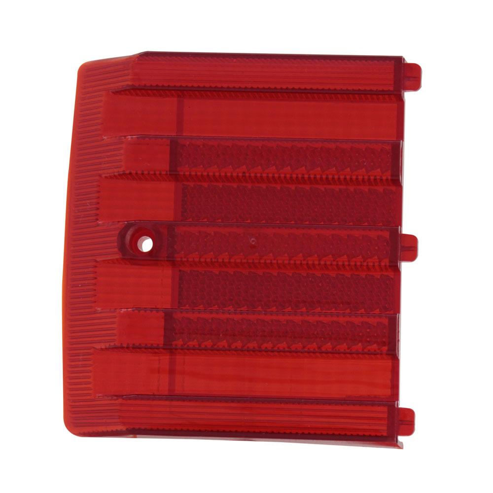 Lente de canto da lanterna traseira modelo rubi para VW Brasilia após 1977  - Bunnitu Peças e Acessórios
