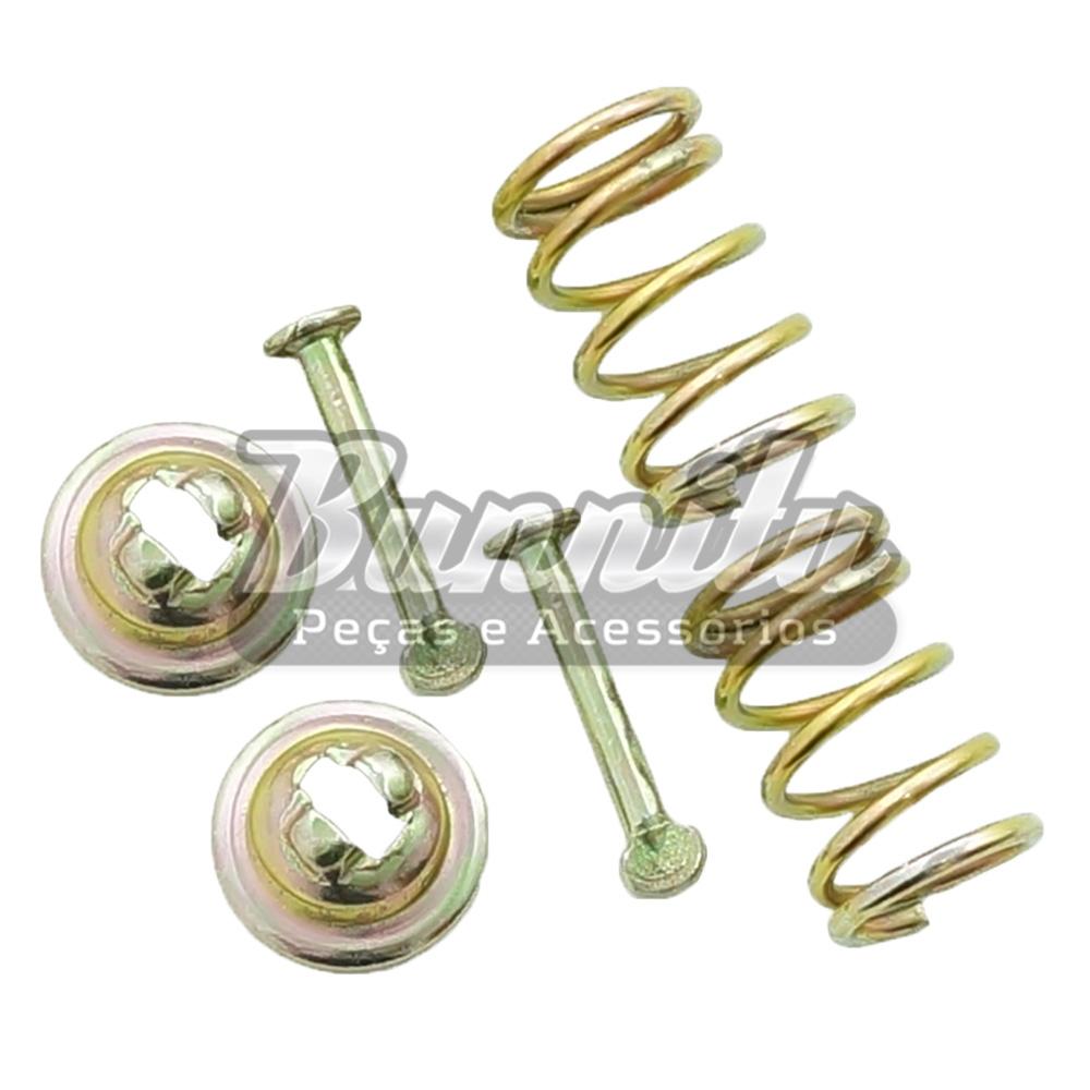 Kit de reparo dos centralizadores da sapata de freio para VW Fusca  - Bunnitu Peças e Acessórios
