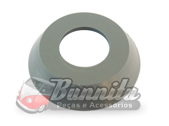 Espelho de acabamento interno ou roseta cinza para VW Kombi  - Bunnitu Peças e Acessórios