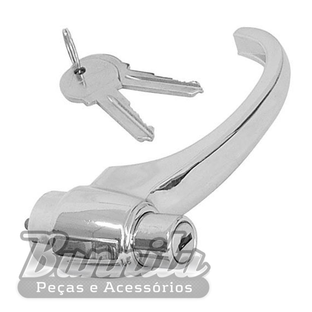 Maçaneta externa para Pick-Up, Marta Rocha, Chevrolet Brasil, 3100 e Veraneio  - Bunnitu Peças e Acessórios