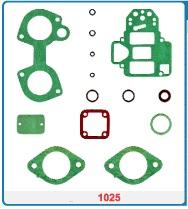 Kit de reparo do carburador Weber 45 DCOE - Horizontal  - Bunnitu Peças e Acessórios
