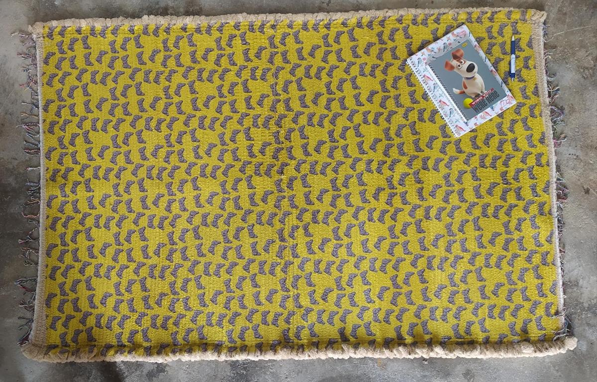 0518 - Tapete Soft Microfibra com Estampa 100% poliéster  - Coisas de Brusque