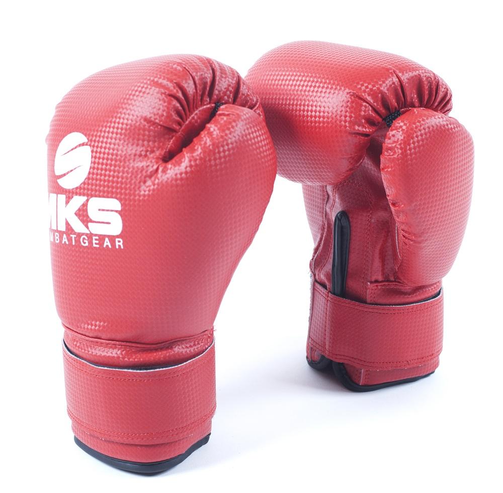 Luva de Boxe Prospect Vermelha MKS