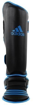 Caneleira Muay Thai Adidas Solar Blue