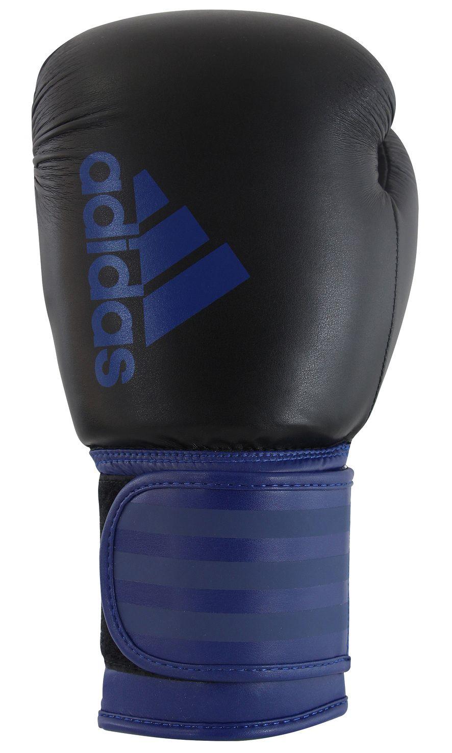 Luva de Boxe Adidas Hybrid100 Mistery Blue/Black