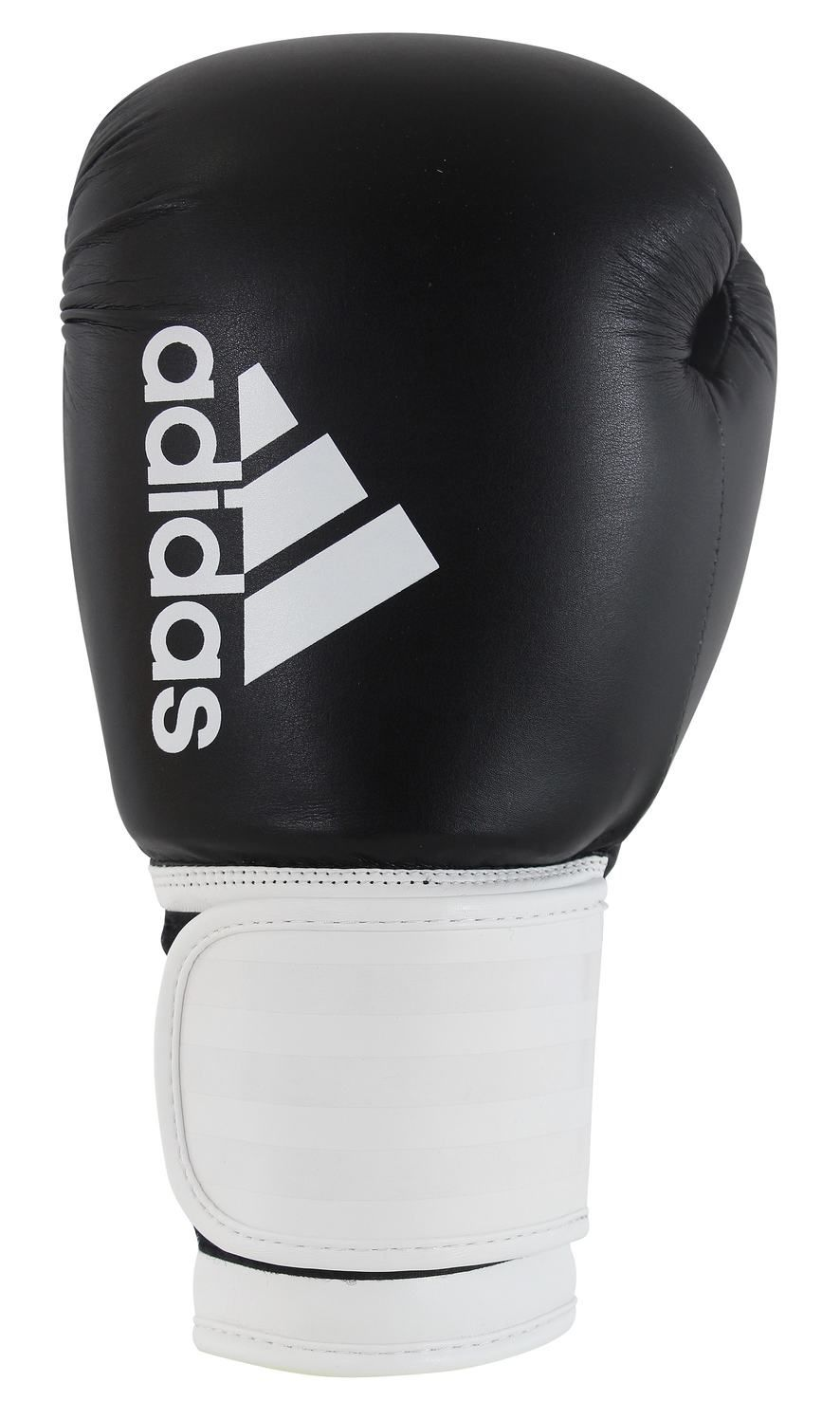 Luva de Boxe Adidas Hybrid100 Branca/Preta