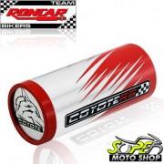 Slider Dianteiro Coyote (PAR) CBR 250 R - Honda - Branco & Vermelho c/ Anel Vermelho