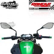 Guid�o Modelo Original Preto com Tuchos Z 800 - Kawasaki  - Super Moto Shop