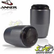 Slider Dianteiro Anker Monster 796 2013 em Diante - Titanium - Ducati