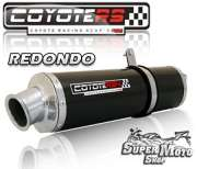 Escape / Ponteira Coyote RS4 Fibra de Carbono Redondo (par) CBR 1100 XX - Super Moto Shop