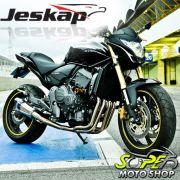 Escape / Ponteira Jeskap Evolution Tit�nio Full ( 4X2X1 ) Hornet CB 600 2008 em Diante - Honda