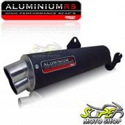 Escapamento Aluminium RS Boca 8 Oval STX Motard 200 - Preto - Sundown