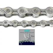 Corrente KMC X9L Silver 9 Velocidades